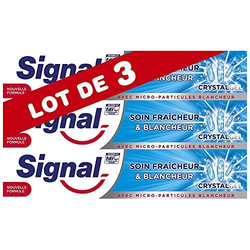 Signal Dentifrice Blancheur Soin Fraîcheur...