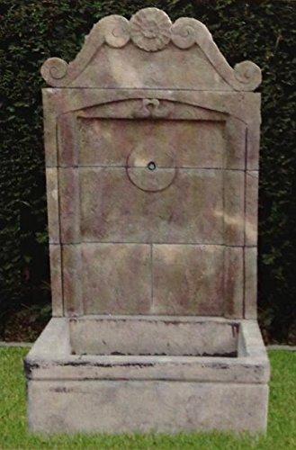 pompidu-living Wandbrunnen, Zierbrunnen, Springbrunnen Grimaud Farbe Terracotta