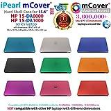 mCover Coque Noir Uniquement pour Ordinateur Portable HP 15.6', série 15-DAxxxx (15...