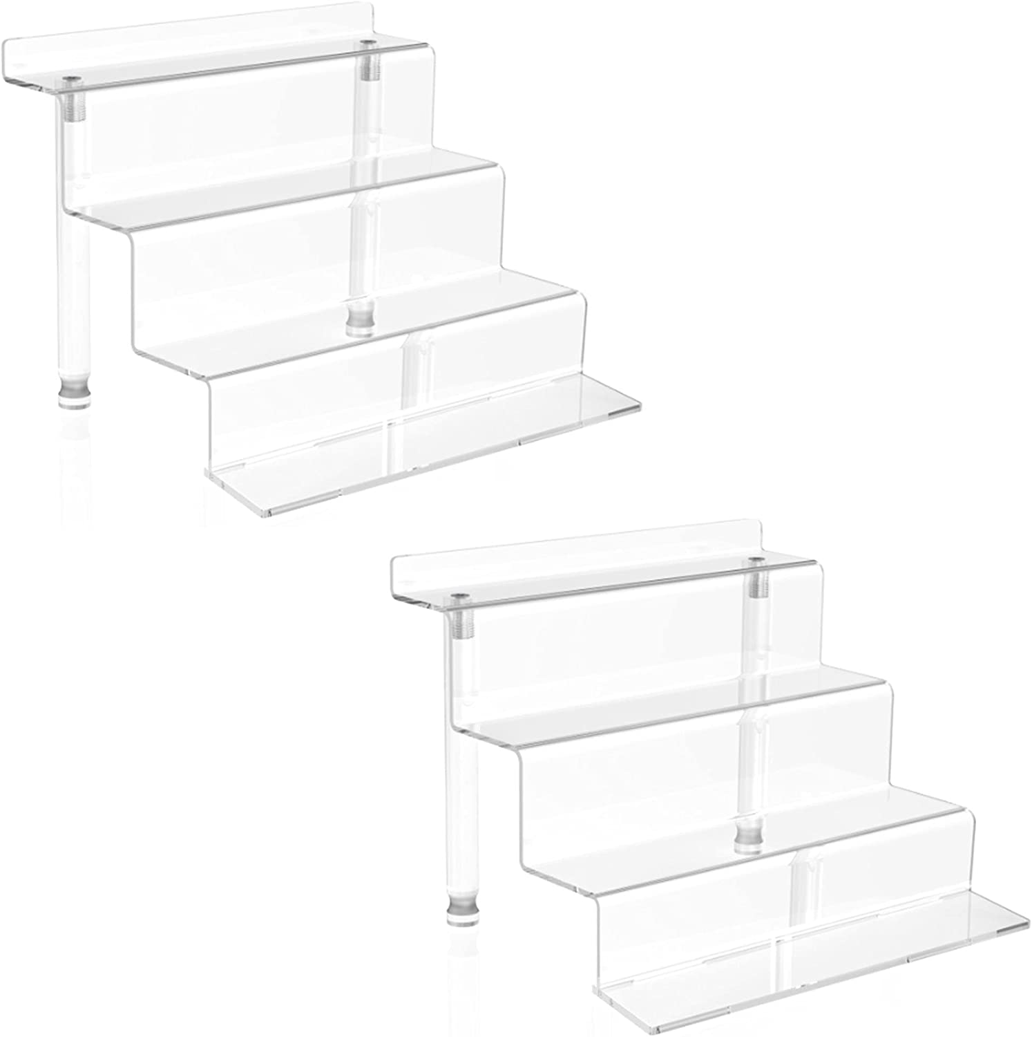 NEW before selling ☆ Phattopa Acrylic Stands Super intense SALE for Display Pack Shelf Riser 2 f