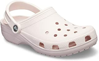Classic Clog|Comfortable Slip On Casual Water Shoe, barely pink, 8 M US Women / 6 M US Men