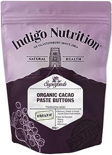 Indigo Herbs Pasta de Cacao Pastillas Orgánica 500g