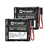 Best Access Systems VPD-BB Battery Replacement - Ultra High Capacity (Alkaline, 6V, 2200 mAh) Battery - 2 Pack