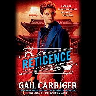 Reticence audiobook cover art