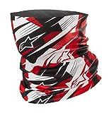 Alpinestars Blurred - Scaldacollo taglia unica nero rosso