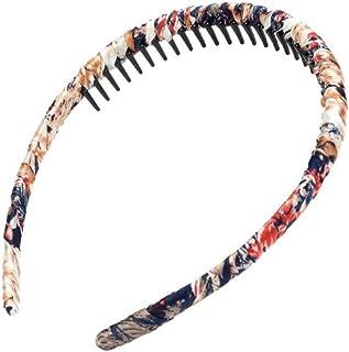 Multicolor Protection Resin Teeth Comb Hair Hoop Hairband #1