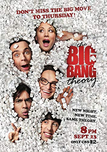 linbindeshoop The Big Bang Theory Poster Movie Wall Stickers Paper Prints High Definition Clear Picture Home Decoration (LW-2070) 40x60cm No frame