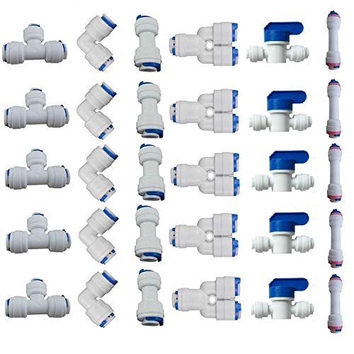 Color : 8mm Sturdy 10Pcs Pneumatic Parts 4mm 6mm 8mm 10mm 12mm Improvement Pneumatic Air 2 Way Quick Fittings Push Connector Tube Hose Plastic