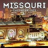 Missouri Calendar 2022: 16-Month Calendar, Cute Gift Idea For Missouri Lovers Women & Men