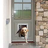 Ideal Pet Products Designer Series Ruff-Weather Pet Door with Telescoping Frame, Extra Large, 9.75' x 17' Flap Size