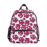 VJSDIUD BackpackPink Japanese Cherry Blossom Sakura Print Mochilas escolares Mochila para niño y niña