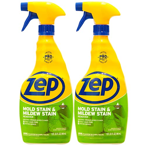 Zep Mold Stain and Mildew Stain Remover 32 oz. (Pack of 2)...