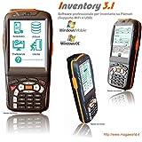 INVENTORY 3.1 Software professionale programma di Inventario, magazzino, per Palmari Windows Mobile, Windows CE, Pocket PC, memorizza codice quantita lotto