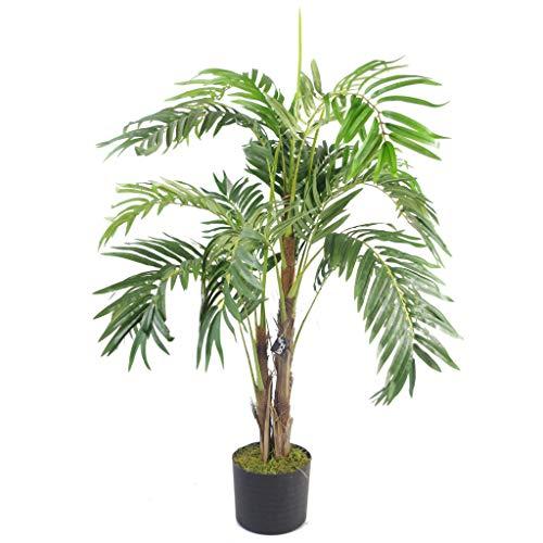 Leaf Premium Künstlicher Topf, 120 cm Luxus Palme