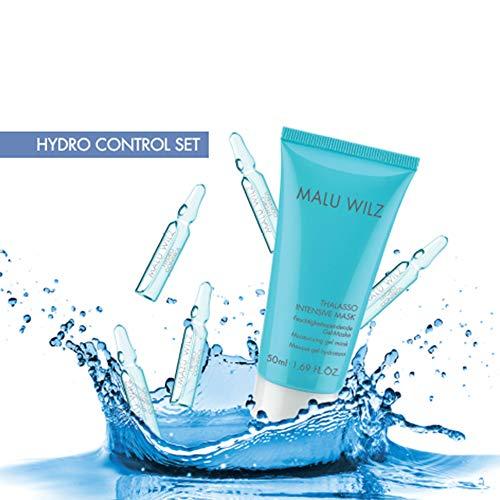 Malu Wilz Hydro Control Set mit 7 Hydro Ampullen a 2ml und Thalasso Intensive Mask 50ml