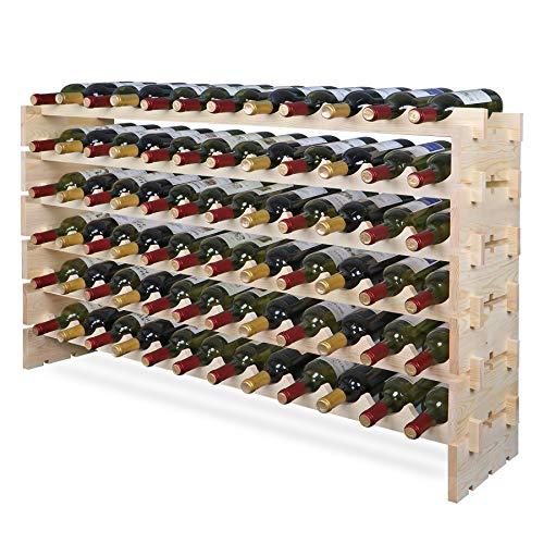 Smartxchoices 72 Modular Wine Ra...