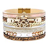 Graduation Gifts for Her 2021,College High School Graduate Bracelets Jewelry Gifts for Girls Daughter