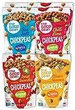The Good Bean Crunchy Chickpeas Snacks, Variety Pack, 6 Ounce, 6 Count...