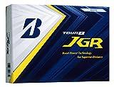 BRIDGESTONE(ブリヂストン)ゴルフボール TOUR B JGR 2018年モデル 12球入 ホワイト