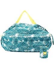 エコバッグ かんたんにたためる 折りたたみバッグ 防水 コンパクトに収納 エコバック コンビニ ショッピングバッグ コンビニ マイバッグ