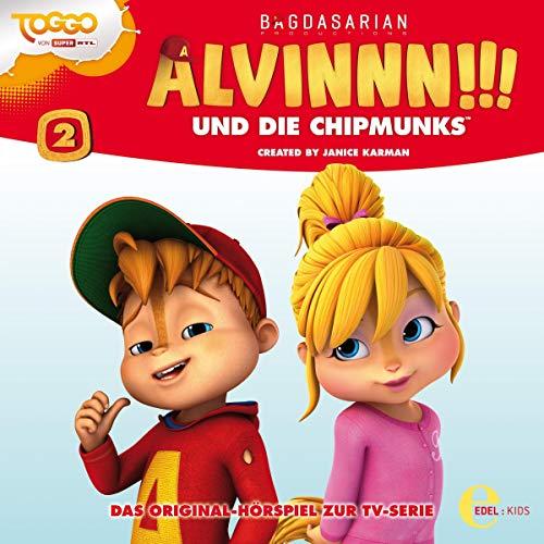 Alvinnn!!! und die Chipmunks 2. Das Original-Hörspiel zur TV-Serie Titelbild