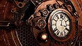 Puzzle 1000 Piezas puzzles para adultos, flechas de reloj steampunk puzzle adultos rompecabezas Entretenimiento Juguetes Decoración del Hogar puzles de 1000 piezas adulto -75CMX50CM