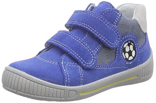 Superfit COOLY 600044, Baby Jungen Lauflernschuhe, Blau (BLUET KOMBI 85), 22 EU