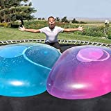 zxtrby Bubble Ball Toy 46.8'' for Adults Kids Inflatable Water Ball Beach Garden Ball Soft Rubber Ball Outdoor Party Favor for Kids, Gift Idea for Boys (Blue)