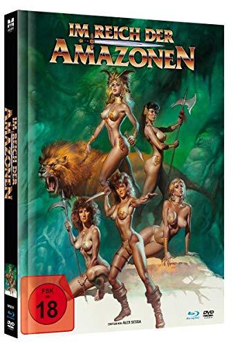 Im Reich der Amazonen - Uncut limited Mediabook-Edition (+ DVD/in HD neu abgetastet) [Blu-ray]