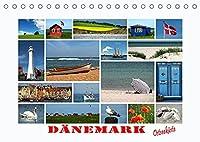 Daenemark - Ostseekueste (Tischkalender 2022 DIN A5 quer): Eine Bilderauswahl von Landschaften, Staedten und Haefen an der daenischen Ostseekueste (Monatskalender, 14 Seiten )