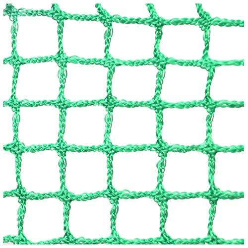 XXN Green Rope Net,Rete di Isolamento per Protezione Campo da Calcio Recinzione Golf Recinto Sportivo Multifunzionale per Giardini,Scuole Club Scala Balcone Recinzione Protettiva per Bambini Cat