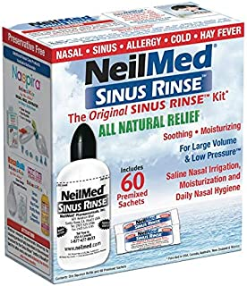 Sinus Rinse Kit with 60 Packets