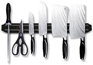 Bandes magnétiques pour couteaux, support de couteau magnétique multifonction 38,1 cm, barre de couteaux, porte-couteaux, ...