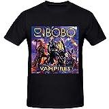 Photo de FDXGFHJ DJ Bobo Vampires Men Printed T Shirts O Neck XXL