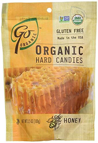 GoNaturally Organic Hard Candies (Honey) (1 x 3.5 OZ) (2 Pack)