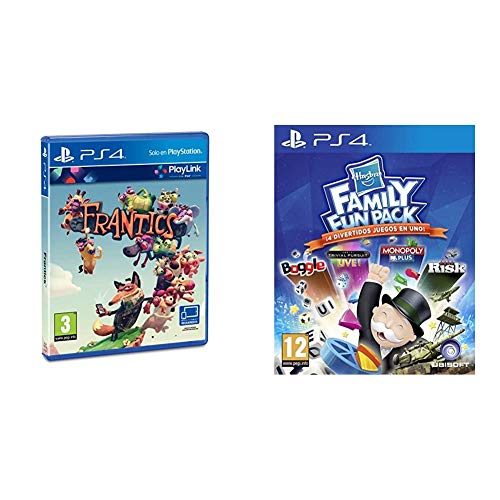 Sony CEE Frantics + Hasbro Family Fun Pack