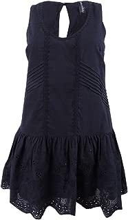 MINKPINK Womens Gardenia Tiered Mini Dress Swimsuit Cover Up (Medium, Black)