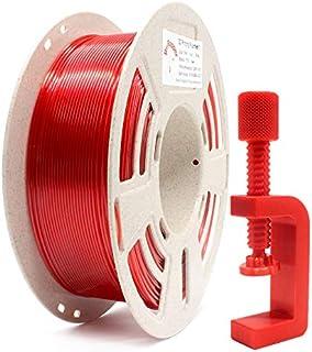 Reprapper Filament PETG 1.75 (± 0.03 mm) 1kg pour Imprimante 3D, PETG Très Résistant, Enroulé Parfait sur Bobine Recyclée,...