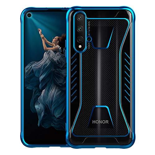 Huawei Nova 5T / Honor 20 Hülle Case, Schutzhülle Transparente Dünn Weich Silikon Cover Bumper Stoßfest Handyhülle Fall für Huawei Nova 5T/ Honor 20 (Blau)