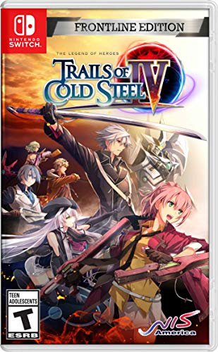 The Legend of Heroes: Trails of Cold Steel IV Frontline Ed Switch Only $39.99 (Retail $59.99)