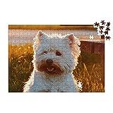 Puzzles personalizados 280 piezas con foto y texto | Máxima calidad de impresión | Diferentes tamaños disponibles (9 a 2000 piezas) | Tamaño: 280 piezas (40 x 30 cm) - Sin caja personalizada