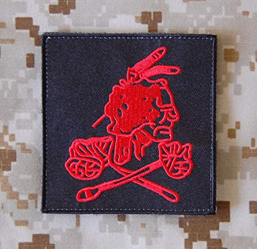 Seal Team 6 NSWDG DEVGRU Red Squadron VIP Protection Patch DEVGRU Black Version