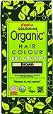 Radico colorez moi 100% herbes naturelles organiques à longue durée de la couleur des cheveux brun 100g / 3,53 onces