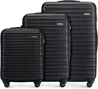 Koffer – Set of 3 | hartschalen, Material: ABS | hochwertiger und Stabiler | Schwarz |..