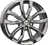 Autec Llantas UTECA 8.5x19 ET30 5x112 SIL para BMW Serie 5 7 X3 X4