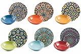 Villa d'Este Home Tivoli Marrakech Servizio Tavola, Porcellana, Multicolore, 18 Unità...