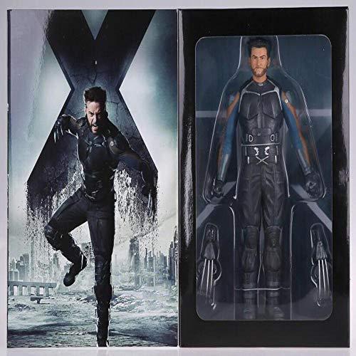 MDDCER 15CM X-Men Wolverine Held-Reihen-Action-Figur Zeichentrickfigur Modell-Dekoration Statue
