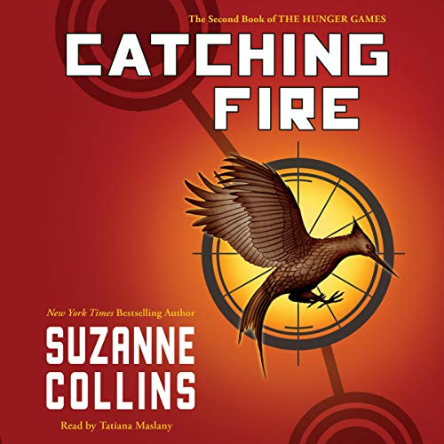 Catching Fire Audiobook By Suzanne Collins cover art