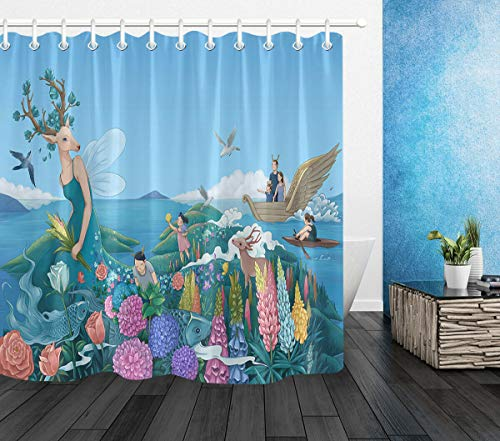 cortinas baño niños