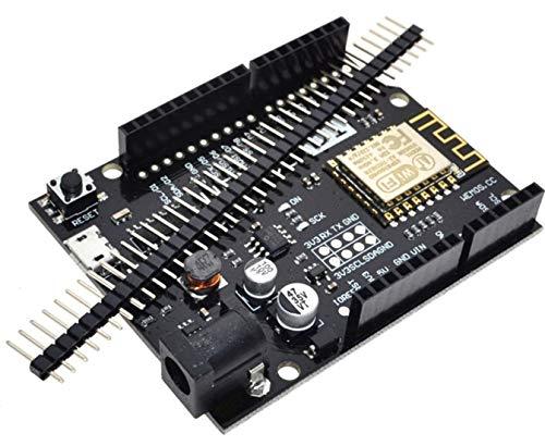 TECNOIOT WeMos D1 R2 V2.1.0 NodeMCU WiFi ESP8266 Development Board